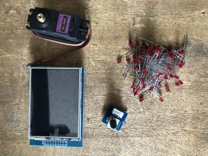 Actionneurs (LCD, servomoteur, potentiomètre, led, ....