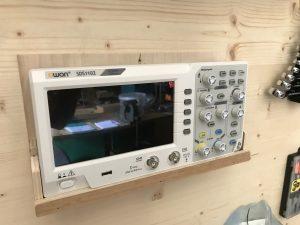 Un oscilloscope numérique