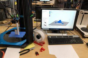 Un de nos ordinateurs pour l'impression 3D